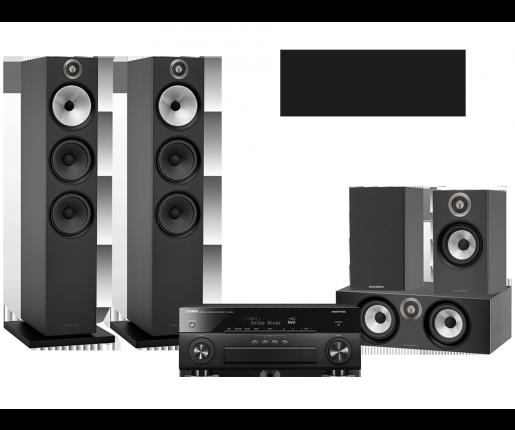 RX-A880 + B&W 603 + 607 + HTM6
