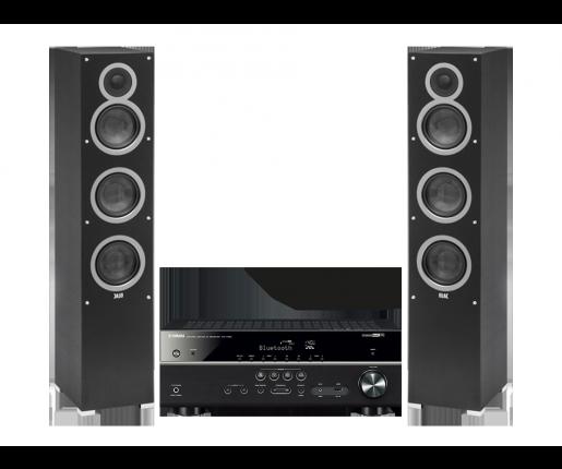 RX-V485 + ELAC Debut F5