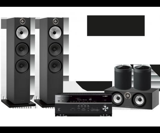 RX-V685 + B&W 603 + HTM6 + 2x MusicCast 20