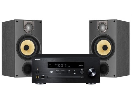 MusicCast PianoCraft MCR-N470D + B&W 686 S2