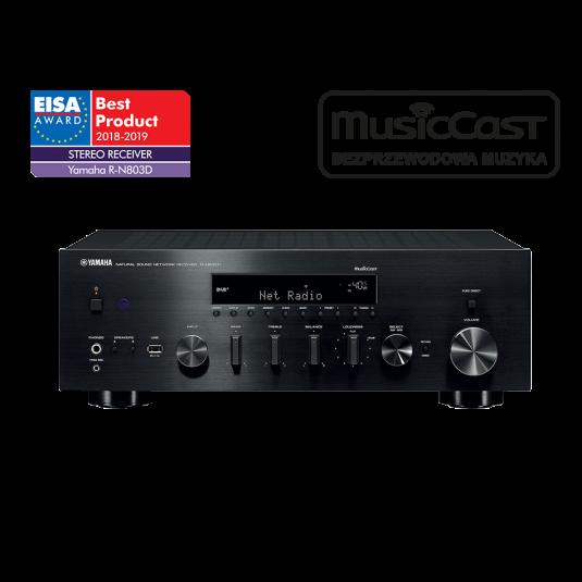 Zestaw stereo - amplituner stereo Yamaha R-N803D + kolumny podłogowe Mission QX-3 - Top Hi-Fi & Video Design
