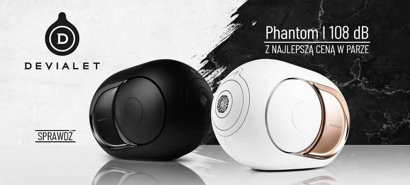 Devialet Phantom I 108 dB – z najlepszą ceną w parze
