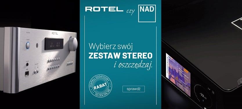 NAD czy Rotel? – wybierz dla siebie idealny zestaw stereo