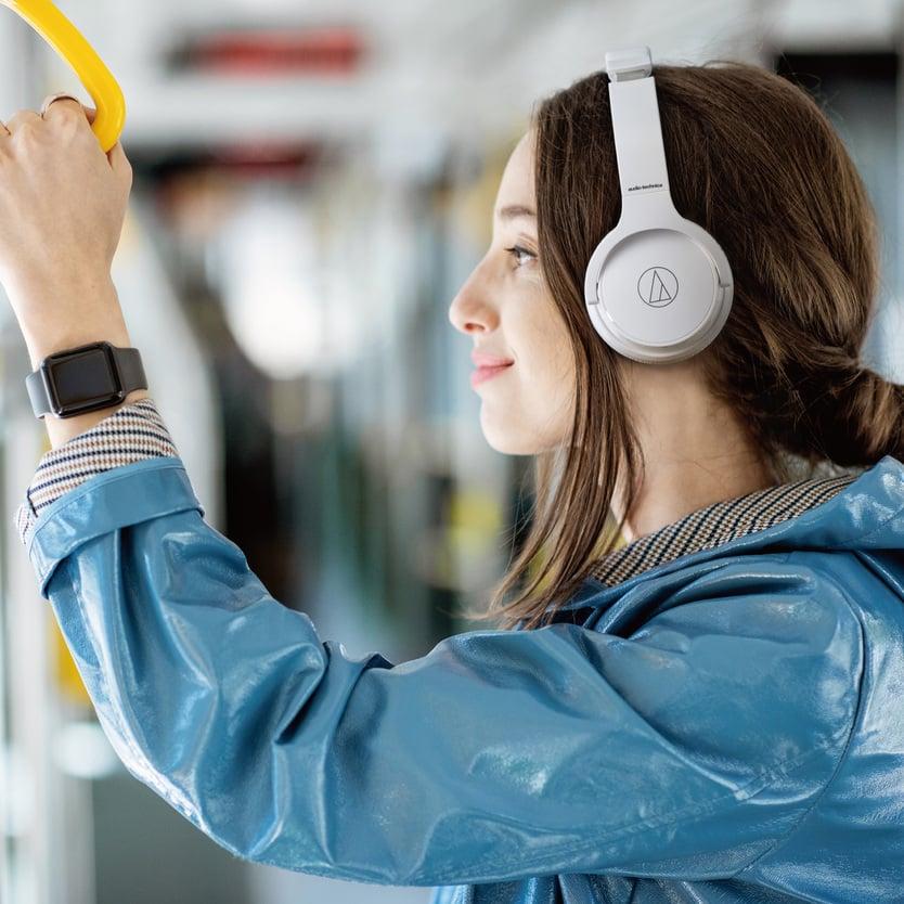 Bezprzewodowe słuchawki nauszne Audio-Technica ATH-SR220BT