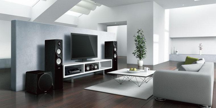 zestaw kina domowego oparty o amplituner Yamaha RX-AS710D