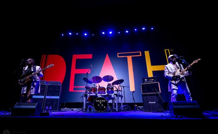 Death, (fot. https://www.deathfromdetroit.com/)