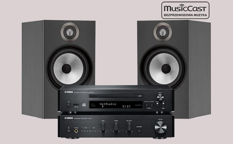 MusicCast PianoCraft MCR-N870D + B&W 606