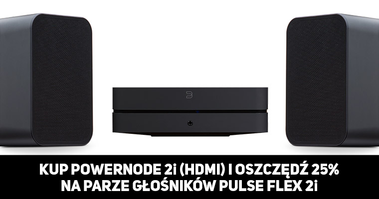 Zestaw POWERNODE 2i (HDMI) + 2 x PULSE FLEX 2i