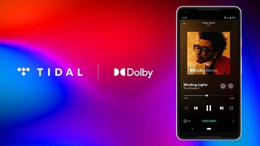 Tidal & Dolby Atmos