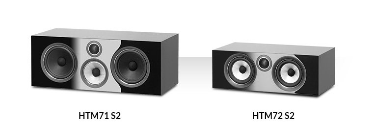 Bowers & Wilkins HTM71 S2 i HTM72 S2