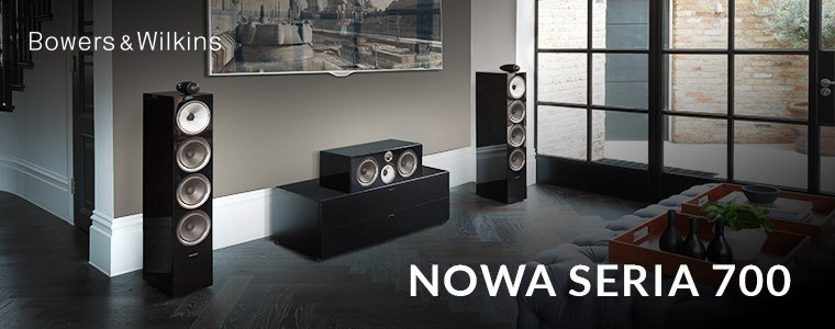 Nowa seria 700 Bowers & Wilkins