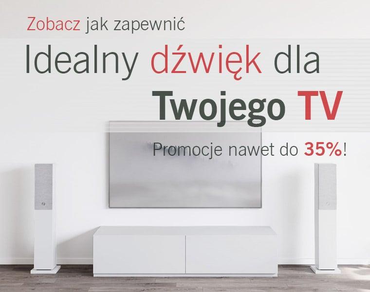Idealny dźwięk dla twojego telewizora