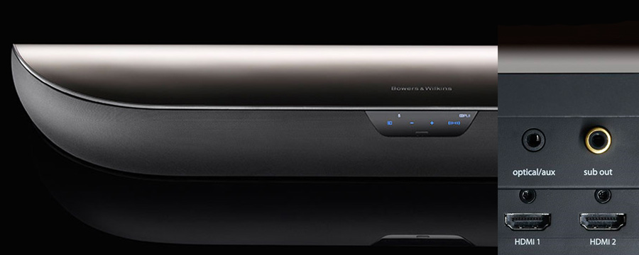 Bowers & Wilkins Panorama 2 sub out