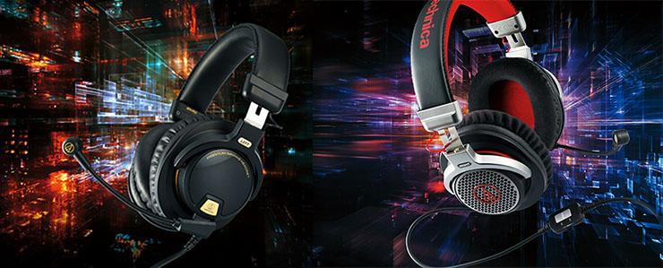 Słuchawki dla graczy Audio-Technica ATH-PDG1 i PG1