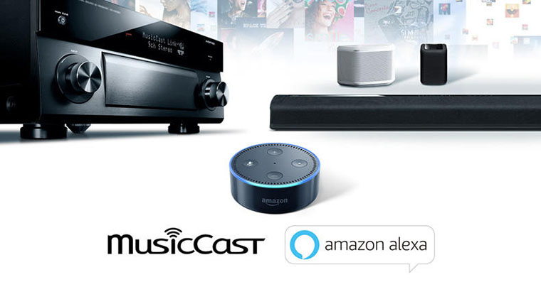 Yamaha MusicCast Amazon Echo