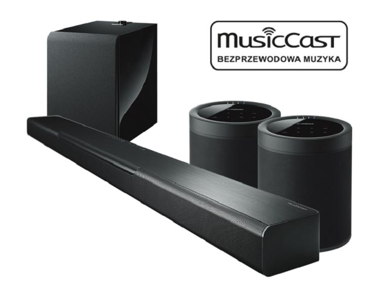 Zestaw BAR 40 + SUB 100 + 2x MusicCast 20