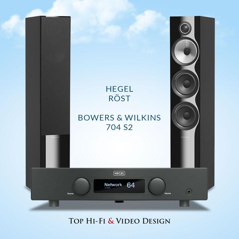 Hegel Röst oraz B&W 704