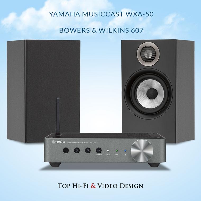 Yamaha MusicCast WXA-50 oraz Bowers & Wilkins 607