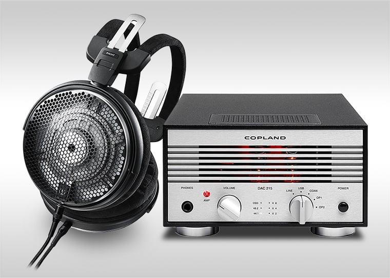 Audio-Technica ATH-ADX5000 + Copland DAC 215