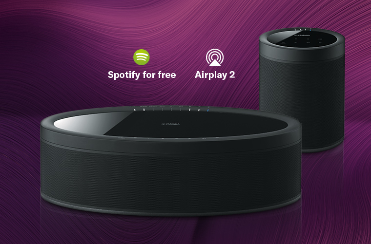 AirPlay2 i Spotify for free już dostępne dla MusicCast 20 i MusicCast 50