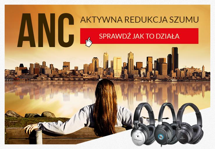 Jak działa ANC - aktywna redukcja szumu