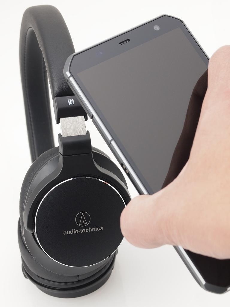 Słuchawki Audio-Technica ATH-SR5BT Bluetooth Czarne z telefonem