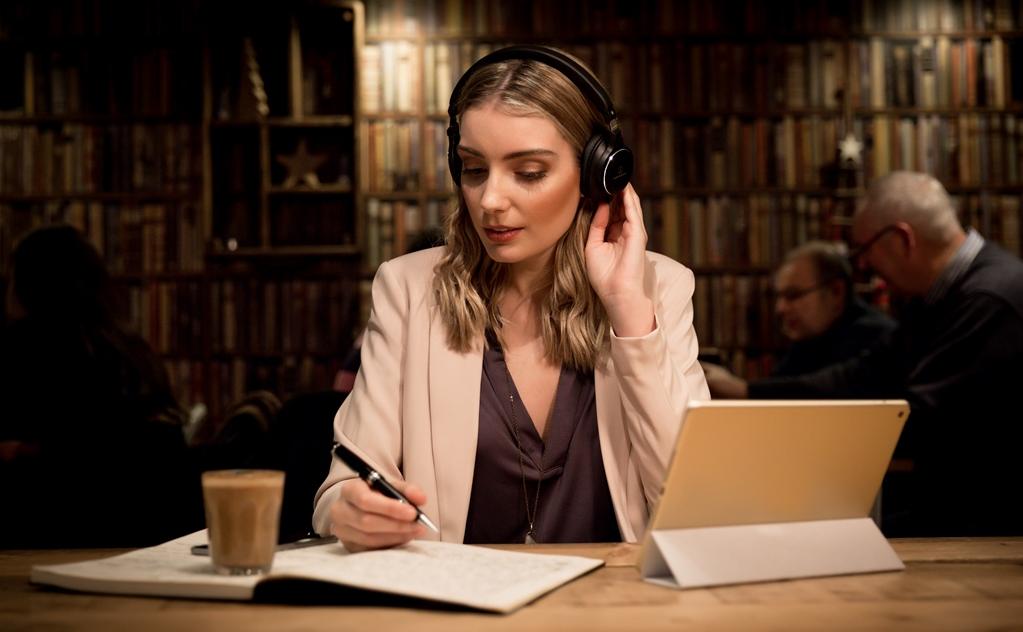 Słuchawki Audio-Technica ATH-SR5 Czarne