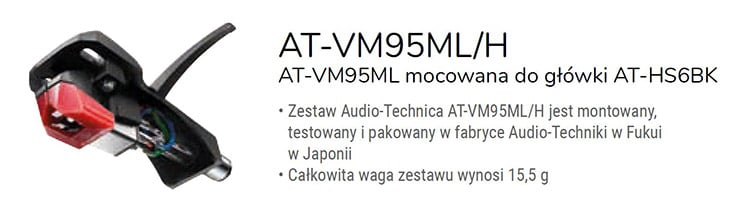 Audio - Technica AT-VM95ML/H