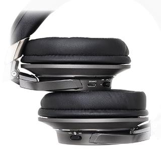 Elegancje i stylowe wykończenie słuchawek Audio-Technica ATH-AR5BT