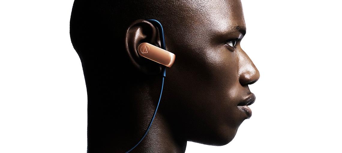 Audio-Technica ATH-SPORT70BT Słuchaj świata zewnętrznego za jednym dotknięciem