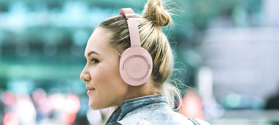 Słuchawki bezprzewodowe nauszne Bluetooth ATH-SR30BT