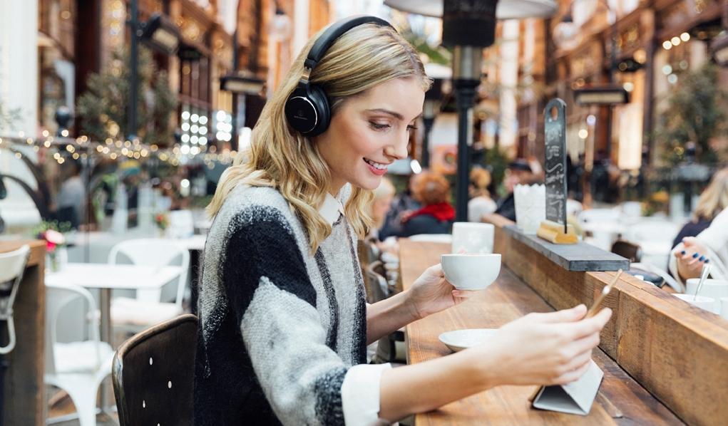 Słuchawki Audio-Technica ATH-SR5BT Bluetooth Czarne