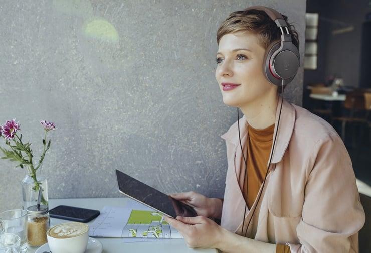 Słuchawki Audio-Technica ATH-MSR7b