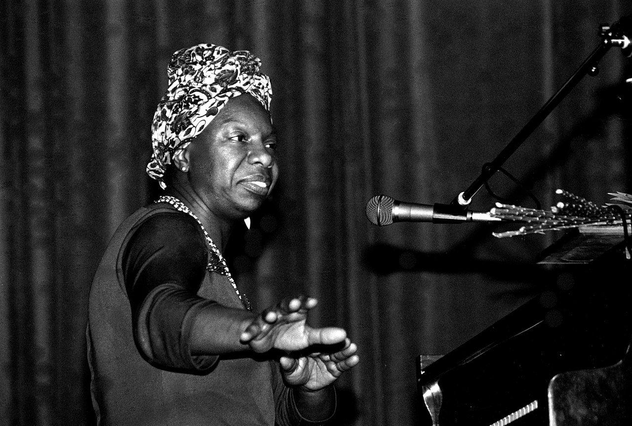 Nina Simone/fot. Roland Godefroy