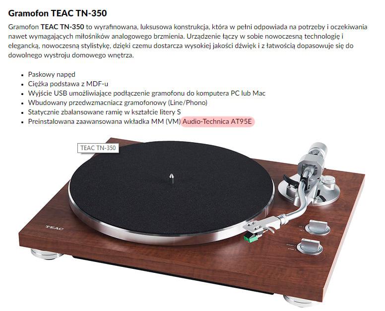 Teac TN-350