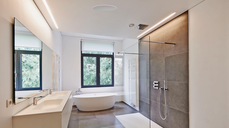 łazienka sufit