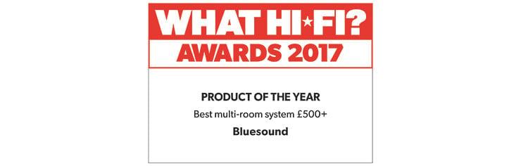 Bluesound - najlepszy system multiroom według What Hi-Fi