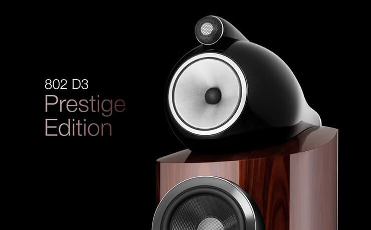 Bowers & Wilkins 802 Prestige Edition