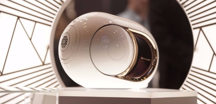 Devialet Phantom Gold Implosive Sound Center