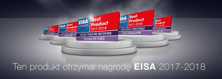Ten produkt otrzymał nagrodę EISA 2017-2018