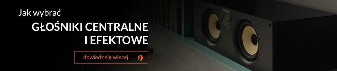 Jak wybrać głośniki podłogowe centralne i efektowe?