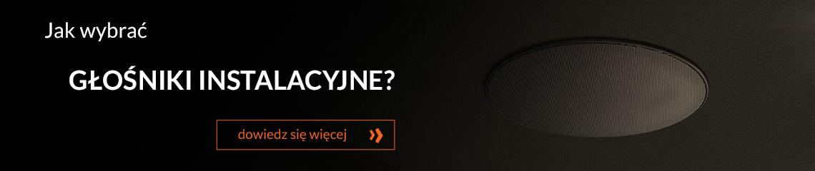 Jak wybrać głośniki instalacyjne?