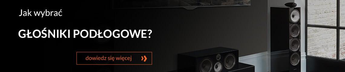 Jak wybrać głośniki podłogowe?