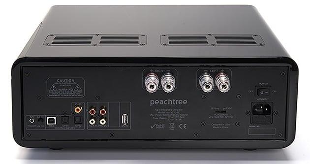 Wzmaniacz zintegrowany Peachtree Audio nova220SE - tył