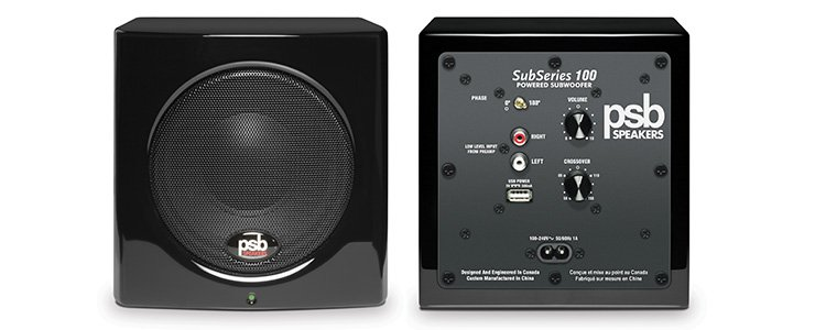 Subwoofer PSB Speakers SubSeries 100