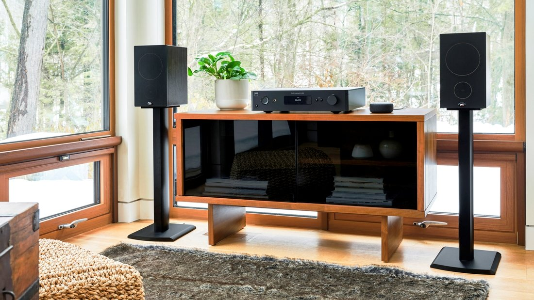 System stereo PSB Alpha P5 NAD C658