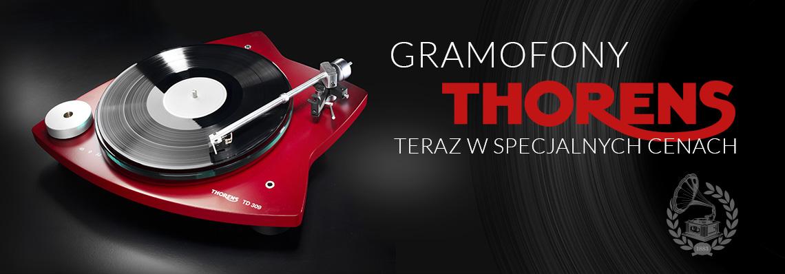 Gramofony Thorens w specjalnych cenach