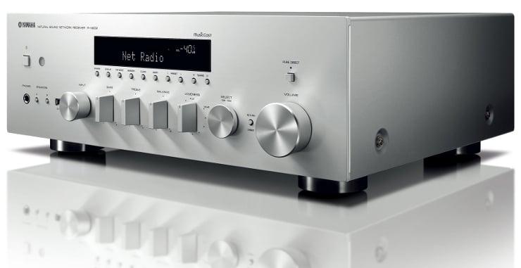 Amplituner sieciowy Yamaha R-N602 z systemem MusicCast