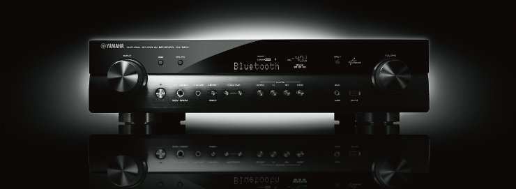 Sieciowy amplituner AV typu slim z systemem MusicCast i DAB/DAB+ Yamaha RX-S601D