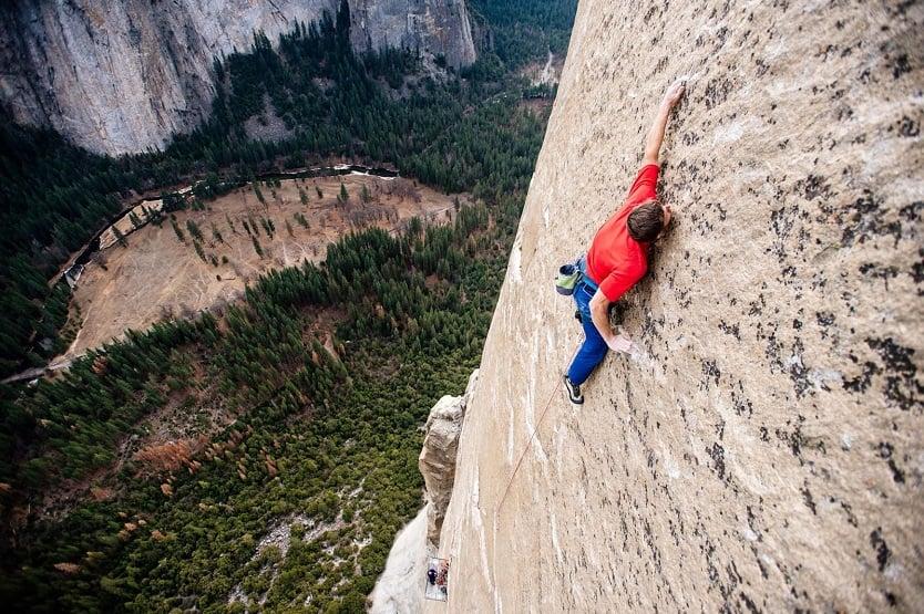 """The Dawn Wall"" / Fot. Corey Rich/Big Up Productions/Aurora Photos"